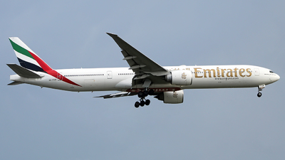 A picture of A6EGR - Boeing 77731H(ER) - Emirates - © Angga PR