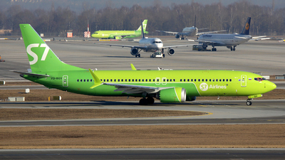 VQ-BGV - Boeing 737-8 MAX - S7 Airlines