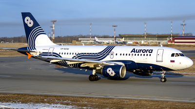 A picture of VPBDM - Airbus A319111 - Aurora - © Artem Nemchinov