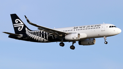 ZK-OXD - Airbus A320-232 - Air New Zealand
