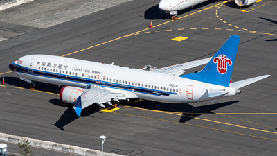 N5573L - Boeing 737-8 MAX - China Southern Airlines