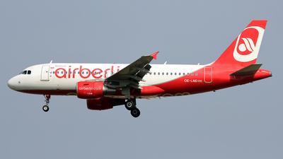 OE-LND - Airbus A319-112 - Air Berlin (Niki)