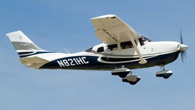 A picture of N821HC - Cessna T206H Turbo Stationair - [T20608846] - © Jeremy D. Dando
