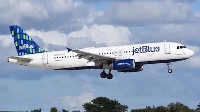 A picture of N568JB - Airbus A320232 - JetBlue Airways - © Sebastian Wermuth