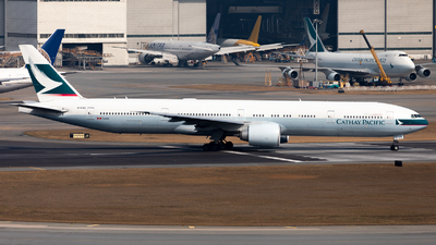 B-KQQ - Boeing 777-367ER - Cathay Pacific Airways