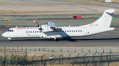 A picture of ECNFT - ATR 72600 - Iberia - © Mateo León