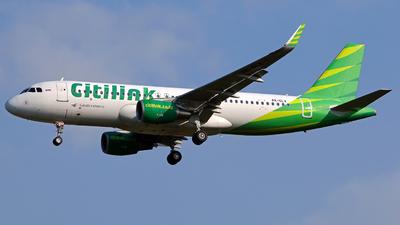 PK-GLX - Airbus A320-214 - Citilink