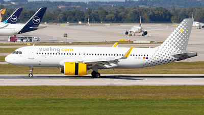 A picture of ECNIY - Airbus A320271N - Vueling - © Moritz Babl