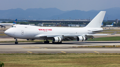A picture of N702CK - Boeing 7474B5(F) - Kalitta Air - © TANG MIN XIN