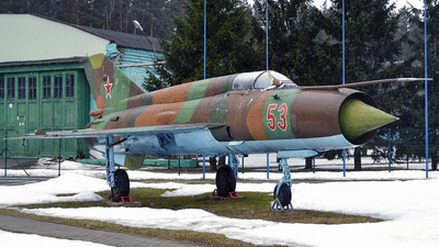 53 - Mikoyan-Gurevich MiG-21SMT Fishbed K - Soviet Union - Air Force