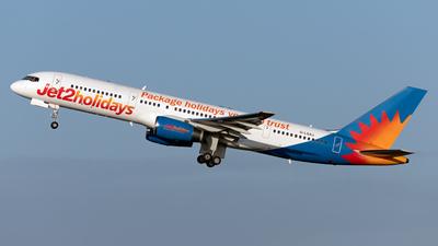 A picture of GLSAJ - Boeing 757236 - Jet2 - © JonathanPalombo