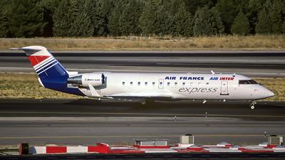 F-GRJB - Bombardier CRJ-100ER - Air France/Air Inter Express (Brit Air)