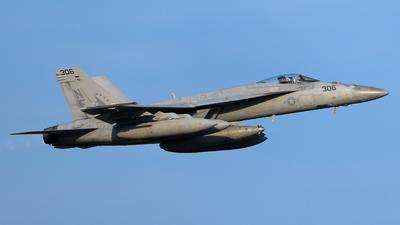 166865 - Boeing F/A-18E Super Hornet - United States - US Navy (USN)