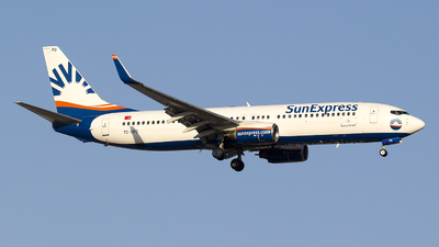 A picture of TCSPD - Boeing 7378AS - SunExpress - © Bora Polater