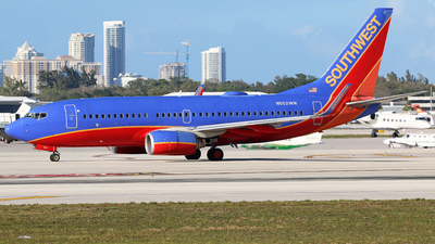 N552WN - Boeing 737-7BX - Southwest Airlines