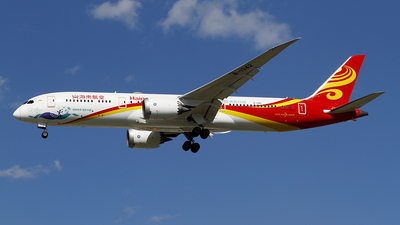 A picture of B1342 - Boeing 7879 Dreamliner - Hainan Airlines - © wangpaul