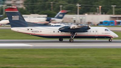 A picture of N336EN - De Havilland Canada Dash 8300 - [336] - © Felipe García