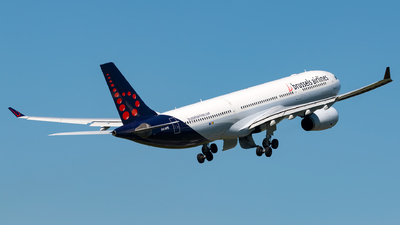 A picture of OOSFD - Airbus A330342 - Brussels Airlines - © Andre M.