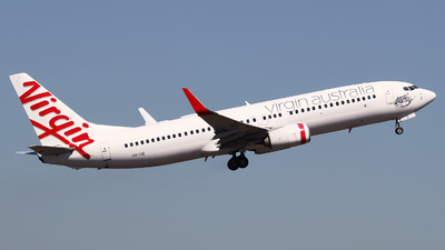 A picture of VHYIE - Boeing 7378FE - Virgin Australia - © M.T