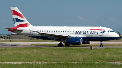 A picture of GEUPB - Airbus A319131 - British Airways - © Varani Ennio