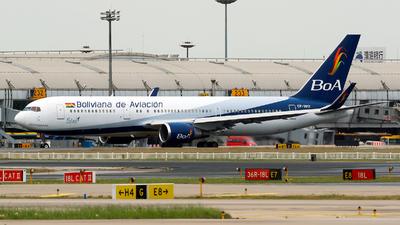 A picture of CP3017 - Boeing 767328(ER) - Boliviana de Aviacion - © yiran