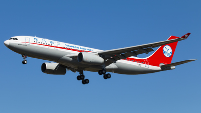 F-WWKV - Airbus A330-243 - Sichuan Airlines