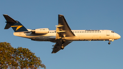 A picture of VHXWS - Fokker 100 - Alliance Airlines - © TommyNG