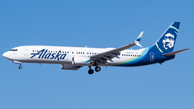 A picture of N407AS - Boeing 737990(ER) - Alaska Airlines - © Ricky Teteris