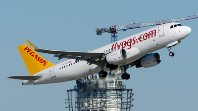 A picture of TCDCI - Airbus A320216 - Pegasus Airlines - © Alp AKBOSTANCI