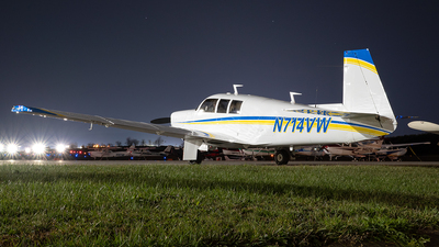 N714VW - Mooney M20F - Private
