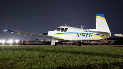 A picture of N714VW - Mooney M20F - [670441] - © Yan777