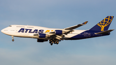 A picture of N263SG - Boeing 747481 - Atlas Air - © Nicholas Hesler