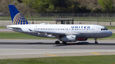 A picture of N898UA - Airbus A319132 - United Airlines - © Jeremy D. Dando