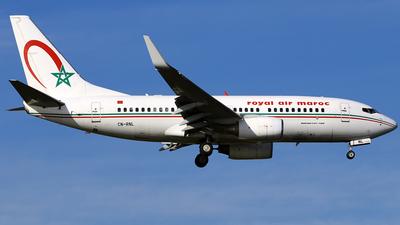 CN-RNL - Boeing 737-7B6 - Royal Air Maroc (RAM)