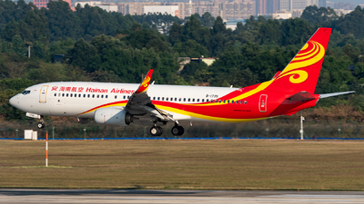 B-1735 - Boeing 737-84P - Hainan Airlines