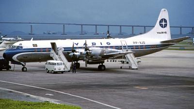 PP-VJO - Lockheed L-188A Electra - Varig