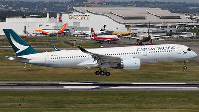 F-WZFX - Airbus A350-941 - Cathay Pacific Airways