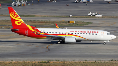 B-1386 - Boeing 737-84P - Hainan Airlines