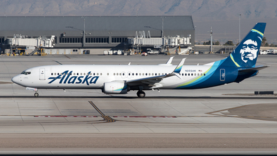 A picture of N293AK - Boeing 737990(ER) - Alaska Airlines - © Yixin Chen