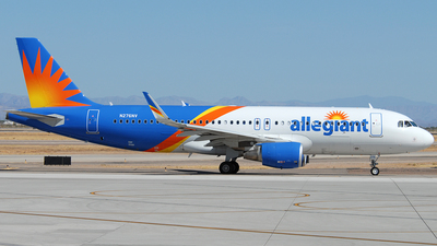N276NV - Airbus A320-214 - Allegiant Air