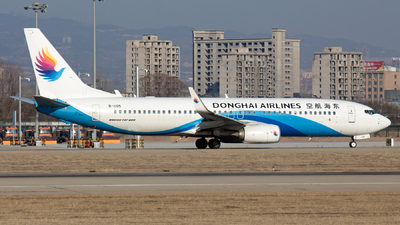 A picture of B1105 - Boeing 73783Z - Donghai Airlines - © HXD3D0369