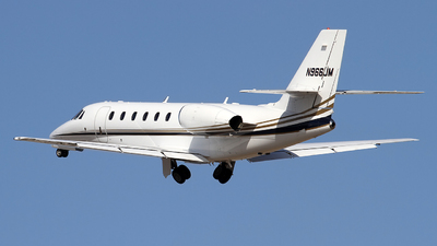 N966JM - Cessna 680 Citation Sovereign - Private