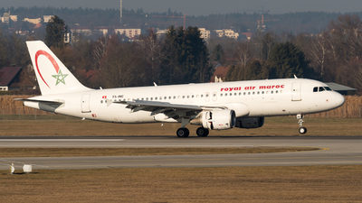 TS-INC - Airbus A320-214 - Royal Air Maroc (RAM)