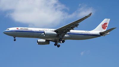 B-5912 - Airbus A330-343 - Air China