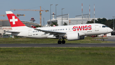 HB-JBF - Bombardier CSeries CS100  - Swiss