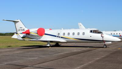 A picture of LVCUE - Learjet 60 - [60196] - © Bruno Orofino