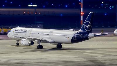 D-AIDC - Airbus A321-231 - Lufthansa