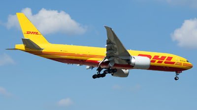 A picture of DAALO - Boeing 777F - DHL - © Stefan Bayer