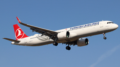 A picture of TCLSF - Airbus A321271NX - Turkish Airlines - © n94504