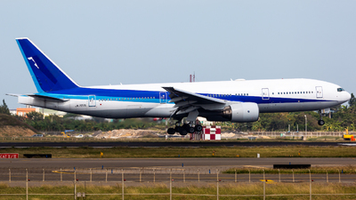 A picture of JA707A - Boeing 777281(ER) - [27037] - © YIFENG SHEN